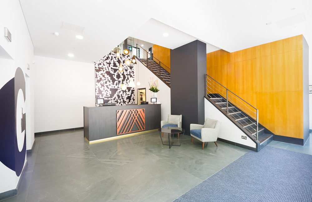 15 Alfred Place_Reception