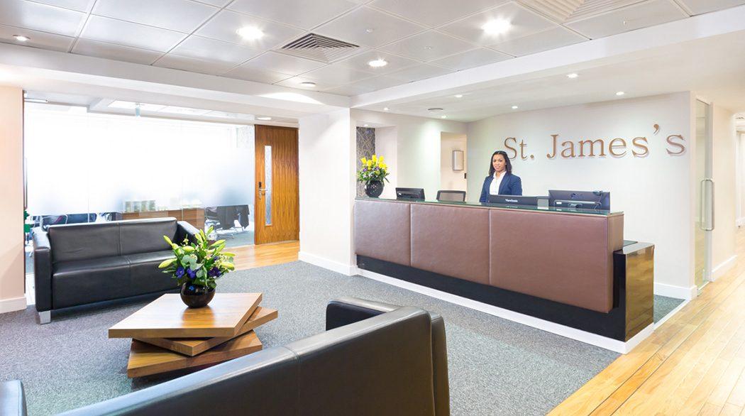22a St James's Square_Reception