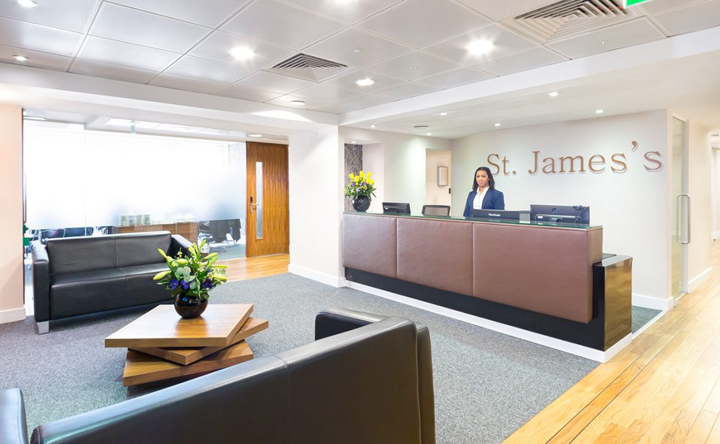 22a St James's Square_Reception