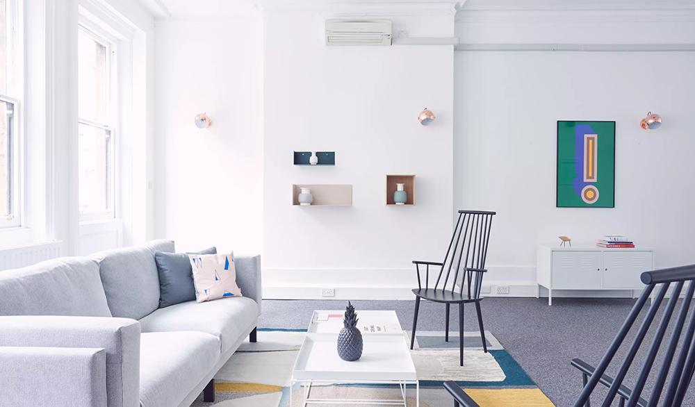 25 Newman Street_Modern furnishings