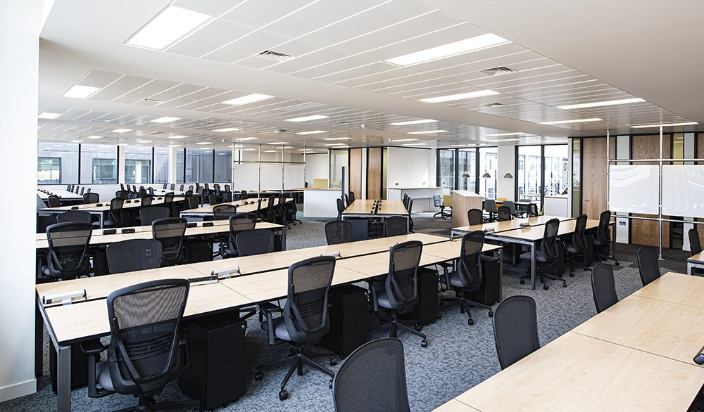 58 Wood Lane_Open plan office