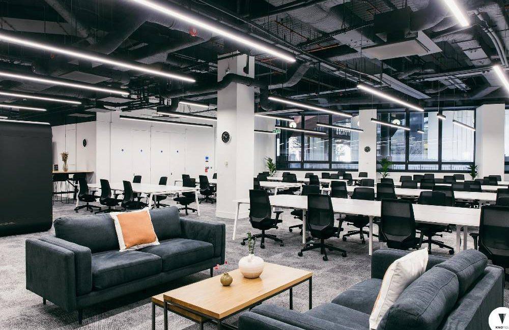 55 Basinghall Street_Office breakout 1st floor