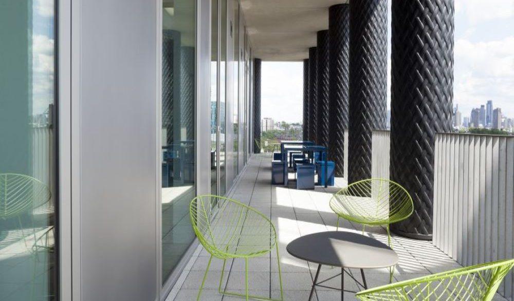 Gridiron Building_Roof terrace