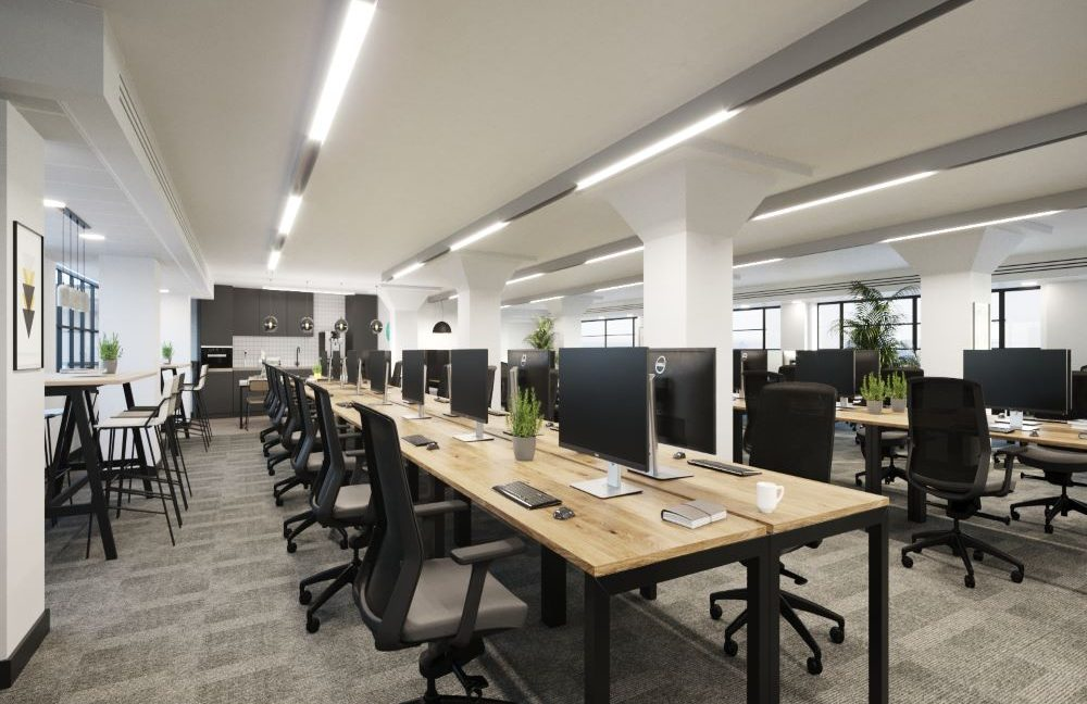 The Clove Building_Open plan office