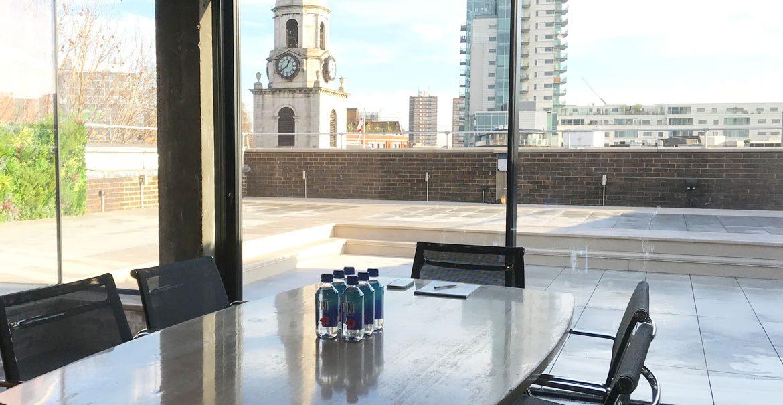3 Marshalsea Road - Meeting room Roof terrace