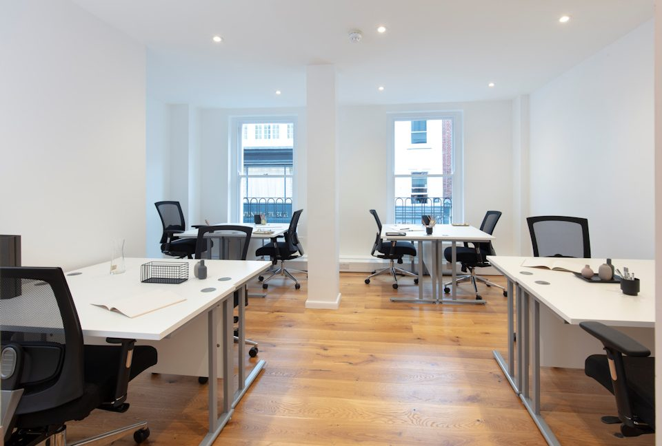 54 South Moulton Street office interiors