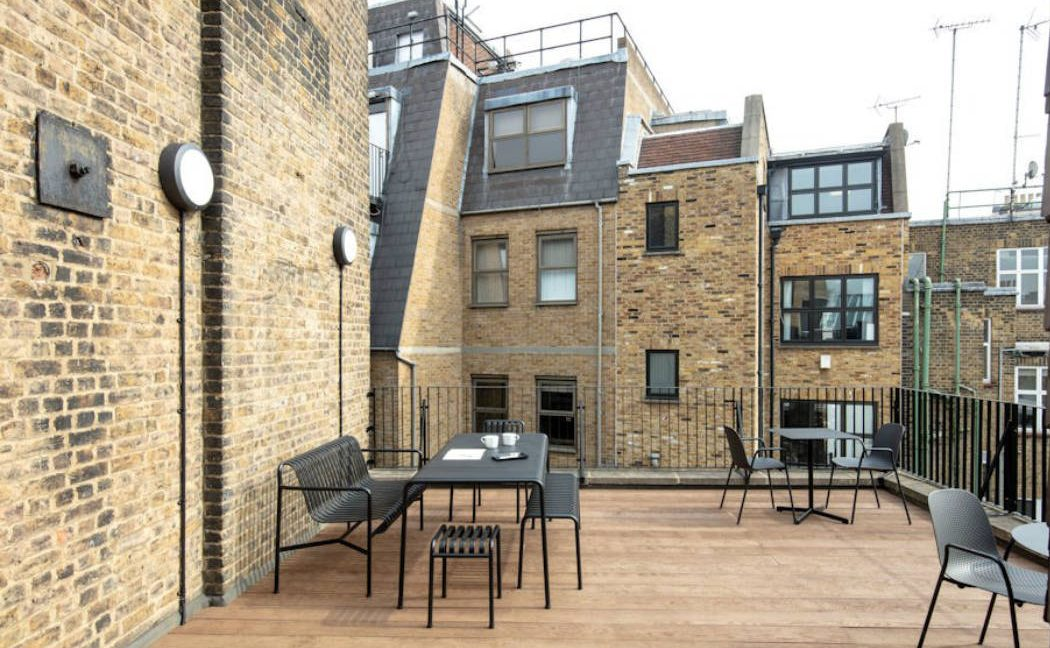 54 South Molton Street_Roof terrace
