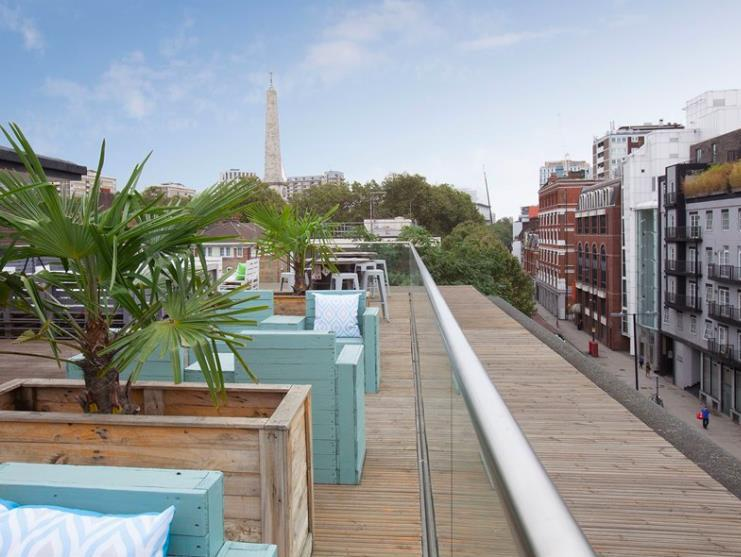 69 Old Street_Roof terrace