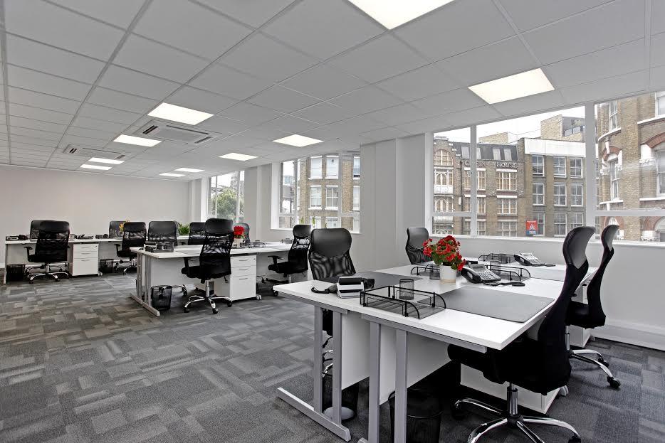 64 Great Eastern Street Open plan office