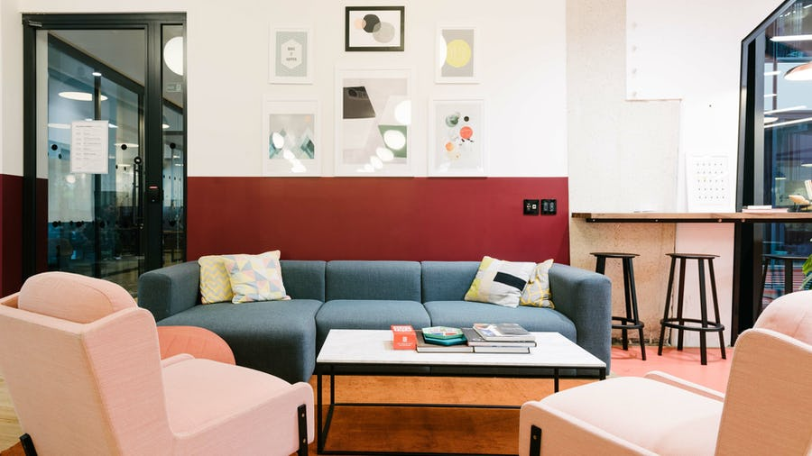 30 Stamford Street lounge area