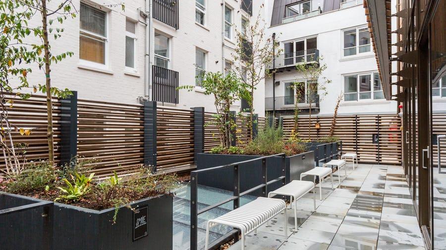 8-14 Meard Street outdoor space