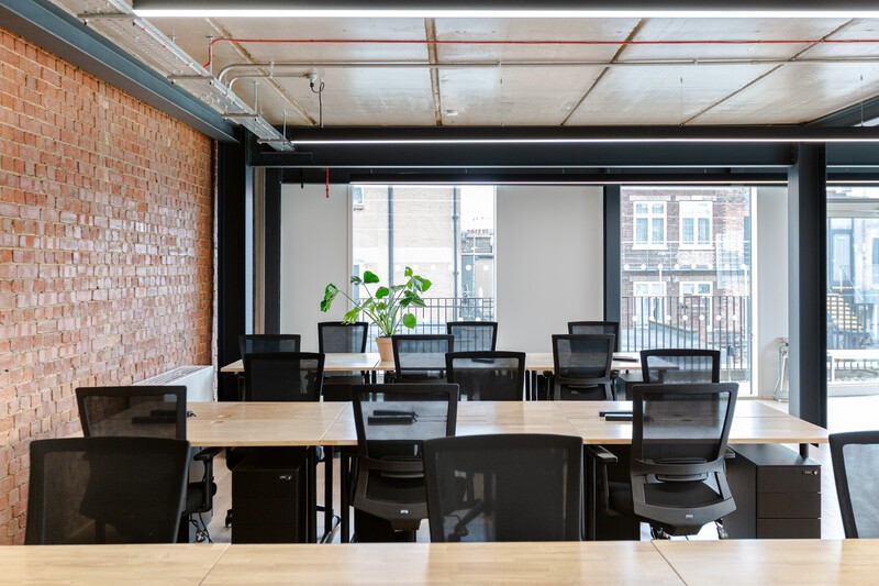 8-14 Meard Street private office
